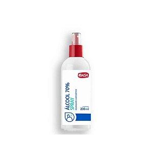 Álcool 70% Spray 200mL  - Ibasa