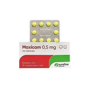 Maxicam 0,5mg 10 Comp. - Ouro Fino