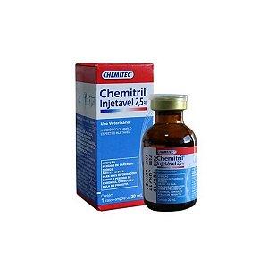 Chemitril Injetável 2,5% - 20mL - Chemitec