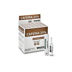 Cafeína 25% 10mL (01 ampola) - Biofarm