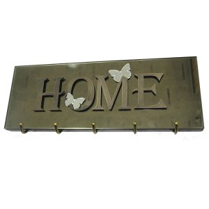 Porta Chaves Butterfly Bronze
