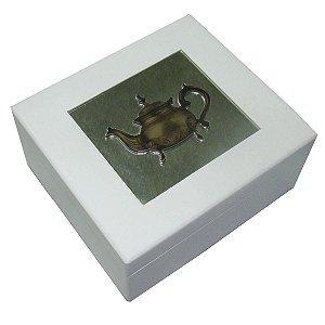 Caixa de Chá Nice Branco