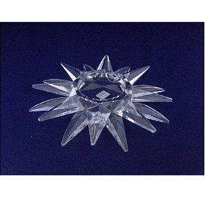 Castiçal de Cristal Estrela