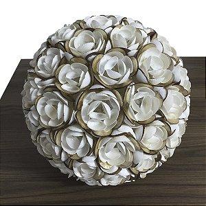 Luminária Flor de Conchas