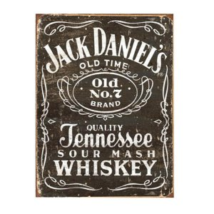 Placa Jack Daniels