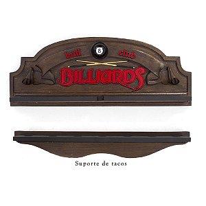 Porta Tacos Billiard e Suporte