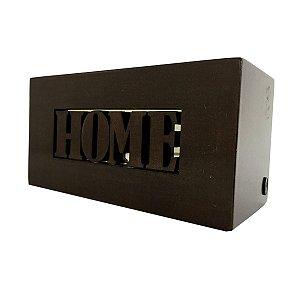 Suporte Controle Remoto Home Marrom