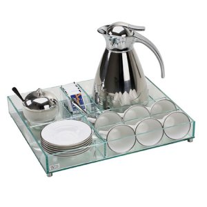Aparador Kit de Café Espelhado