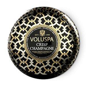 Vela Crisp Champagne Lata 2 Pavios 50H