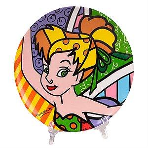 Prato Disney Tinker Bell - Romero Britto