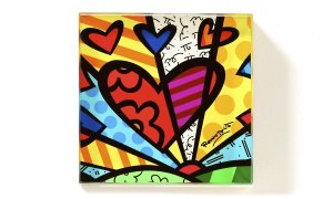 Peso de Papel A New Day - Romero Britto