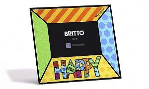Porta Retrato Happy - Romero Britto 10 x 15 Cm