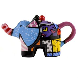 Mini Bule Elephant - Romero Britto