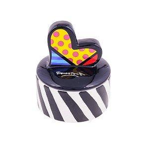 Caixa Heart - Romero Britto