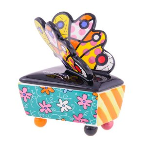 Caixa Butterfly - Romero Britto