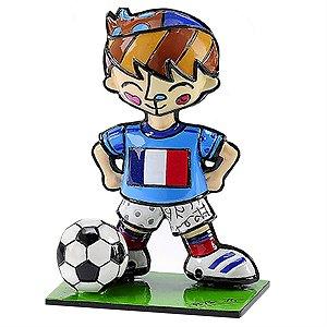 Mini Escultura França - Romero Britto