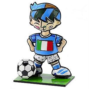 Mini Escultura Itália - Romero Britto