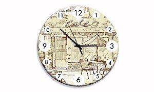 Relógio Parede Café