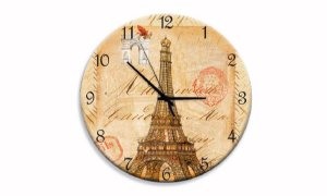 Relógio Parede Torre Paris Arco