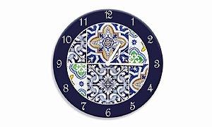 Relógio Parede Azulejos Portugueses