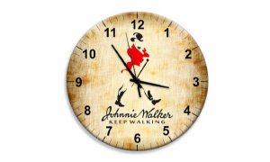 Relógio Parede Johnnie Walker Keep Walking