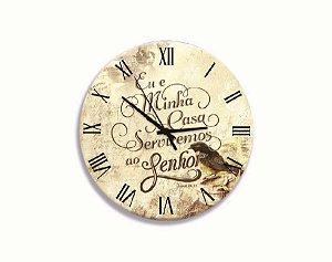 Relógio Parede Oração