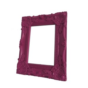 Porta Retrato Rococó Pink 13x18 Cm