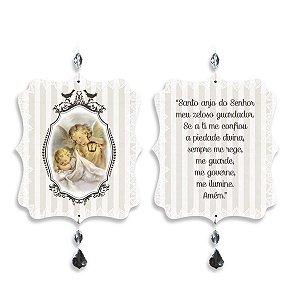 Mobile Oração Santo Anjo Bege