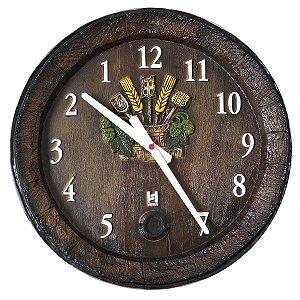 Relógio Barril Anti Horário G