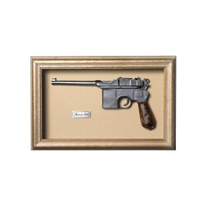 Quadro Réplica Pistola Mauser