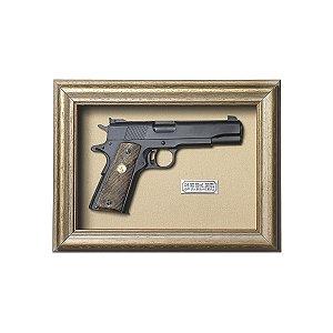 Quadro Réplica Pistola Colt MK