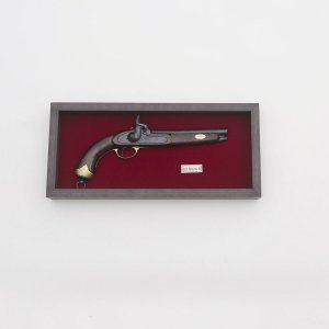 Quadro Réplica Pistola Belgie