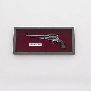 Quadro Réplica Pistola Remington 1858