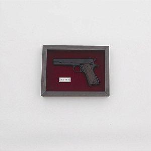 Quadro Réplica Pistola Colt 1911 45