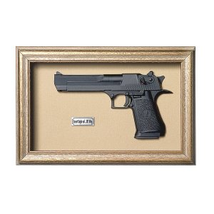Quadro Réplica Pistola Desert Eagle