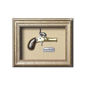 Quadro Réplica Pistola Deringer
