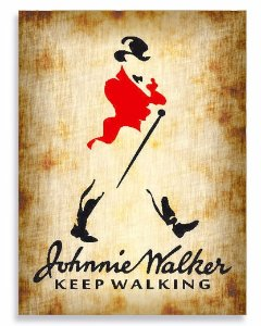 Placa Johnny Walker P