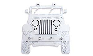 Porta Chaves Branco Jeep