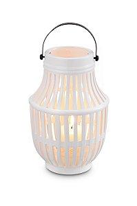 Lanterna Gomos Branca 25cm