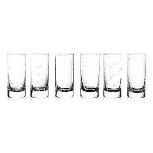 Conjunto 6 copos para shot 77ml