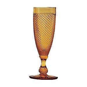 Conjunto 6 taças p/ champagne âmbar 185ml