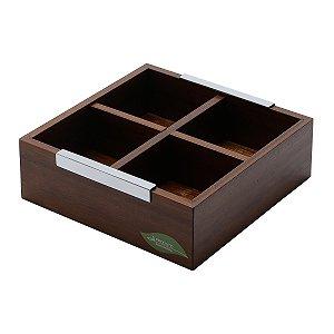 Caixa de madeira p/ chá
