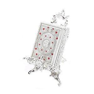 Porta jóia retangular com suporte