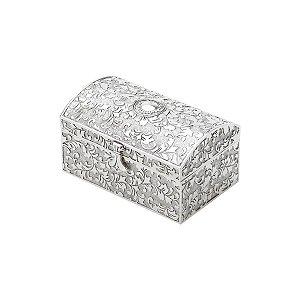 Porta jóia prata antiga