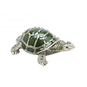 Porta jóias Turtle Verde