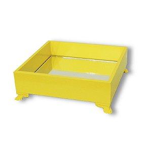Bandeja Amarela M