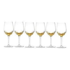 Jogo 6 taças p/ vinho amber 360ml