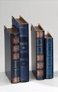 Segura livros Alexandria Azul