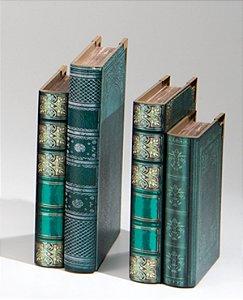 Segura livros Alexandria Verde Claro