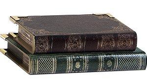 Livros decorativos M Papiro